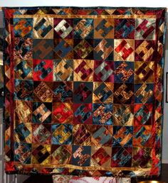 AFRICAN AMERICAN QUILT, 1920'S