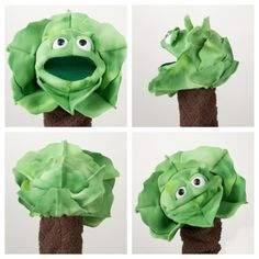 Here's some photos of the finished veggie patch puppets! Very happy with these. My photographer is wonderful and I'm so happy with how these photos turned out! Hand Puppets, Finger Puppets, Jim Henson, Custom Puppets, Couple Crafts, Puppet Patterns, Marionette Puppet, Veggie Patch, Puppet Making