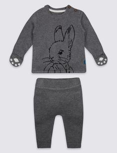 a38df9d5dfa Peter Rabbit Bodysuit and Knitted Dungarees - Mothercare 16£