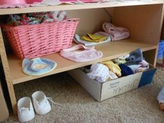 BABY DOLL pretend play area