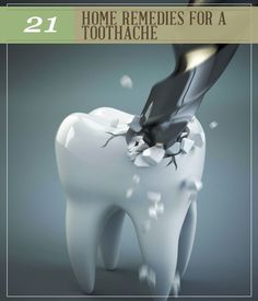 21 Home Remedies For Toothache. #pioneersettler