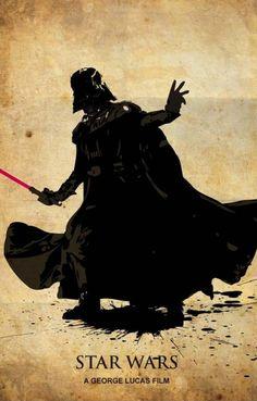 Les posters de Star Wars par Edward Lim