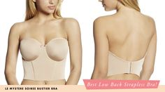In this 2015 Edition of the Strapless Bra Awards, I present you the best of the best for every category from push-up to plus size to low-back!