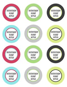 Homemade Sugar Scrub with Free Printable Tags and Labels | Less Than Perfect Life of Bliss | home, diy, travel, parties, family, faith
