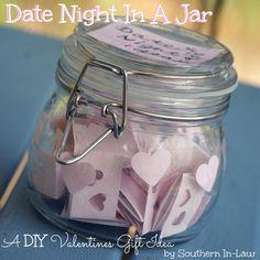 DIY Valentines Gift - Date Night In a Jar