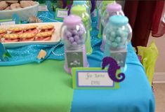 Under the Sea/ Mermaid Party Birthday Party Ideas | Photo 18 of 32 | Catch My Party