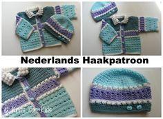 Dubbel Nederlands Haakpatroon Baby vest door ElodyKnitsforKids