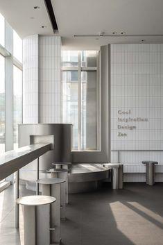 Interior Design Minimalist, Cafe Interior Design, Retail Interior, Cafe Design, Minimal Design, Store Design, Interior Architecture, Cafe Restaurant, Restaurant Design
