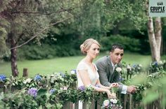 Colourful, natural wedding photography at The Brooklodge Hotel by Couple Photography
