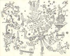La corsetta mattutina di Prim-O-Poi-Tokk-A-Tutt, l'entropico e fatalista Signore della Notte Eterna