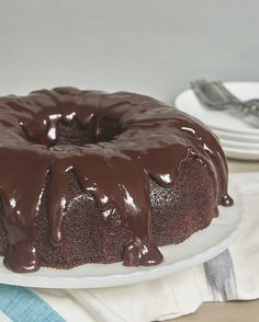 Chocolate Sour Cream Bundt Cake - Bake or Break