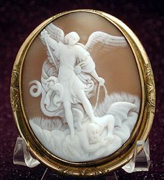 Michaelmas-or Devil & Blackberries Day Michael Love, St Michael, Wiccan, Witchcraft, Book Of Common Prayer, Cameo Jewelry, Holy Mary, Archangel Michael, Magical Creatures