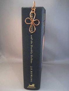 Copper Wire Dangle Bookmark