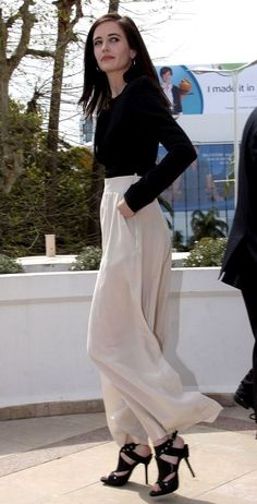 Eva Green. Love her and her style.