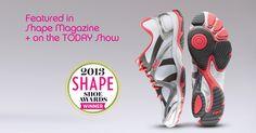"#Ryka INFLUENCE: Featured in @SHAPE magazine ""Shoe"" Magazine + on The #TODAYShow"