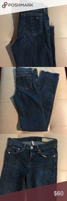 Rag & bone / Jeans Rag & bone straight leg jeans worn once rag & bone Jeans Straight Leg