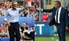 Fernando Santos feels Poland manager Adam Nawalka is playing mind games