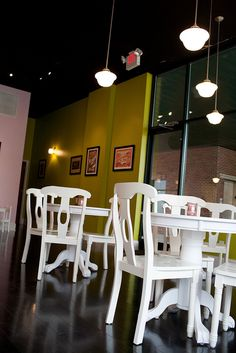 Dining area by CupCakeBite/Cup Cake Pantry, via Flickr