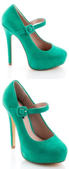 Mary Jane Pumps <3 Love the Color!