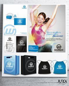 Diseño de marca y branding para marca de ropa deportiva