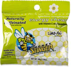 Honey Stinger Organic energy chews are formulated specifically for health-conscious individuals and athletes seeking a great tasting energy snack. Available at REI, Satisfaction Guaranteed. Energy Snacks, Energy Bites, Energy Drinks, Cheap Gifts, Cool Gifts, Best Gifts, Cool Bike Accessories, Vitamins, Lime