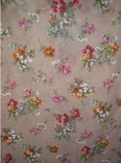 possible wedding dress fabric (1950's fabric)