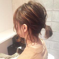 いいね!205件、コメント4件 ― mizuho kuronitaさん(@kuro0084)のInstagramアカウント: 「ルーズでシンプルなひとつ結びが最近すきです #ひとつ結び #福岡美容室 #天神美容室」