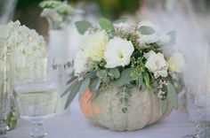AUTUMN CENTERPIECE: Decorating with Pumpkins | Design by Occasion