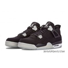 4e2a0ac0037e71 MENS AIR JORDAN 4 BLACK SHOES Authentic 1464125