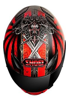 SHOEI RF-1100 CONQUERER TC-10 MOTORCYCLE HELMET