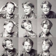 A young Leonardo DiCaprio showing off his emotional range pic.twitter.com/uQWcEqxHbC