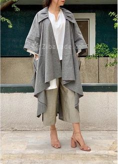 آموزش دوخت مانتو یکی از کپی هایی که صفحه 300 - زیباکده Hijab Fashion Summer, Street Hijab Fashion, Fashion Drawing Dresses, Fashion Dresses, Fashion Bags, Iranian Women Fashion, Womens Fashion, Pattern Fashion, Chic Outfits