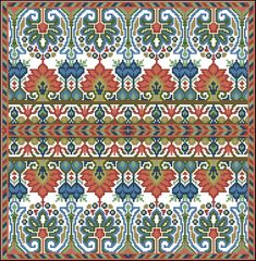 Gallery.ru / Фото #63 - Мои перенаборы 2 - Olya62 Border Embroidery Designs, Embroidery Patterns, Cross Stitch Patterns, Square Patterns, Needlepoint, Bohemian Rug, Alphabet, Pillows, Knitting