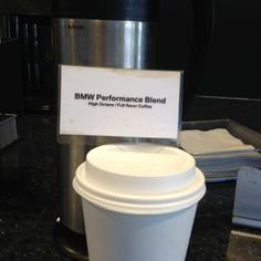 BMW coffee.