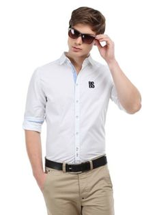 WROGN Men Grey Slim Fit Checked Casual Shirt | myntra | Pinterest ...