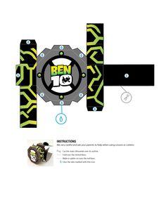 Watch-1 of 3-- http://tektonten.blogspot.com/2011/08/official-ben-10-papercraft.html