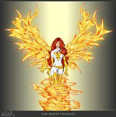 The White Phoenix by rehsurc.deviantart.com on @deviantART