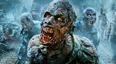 Wallpaper HD The Walking Dead Zombies Scary - HD Wallpaper Expert