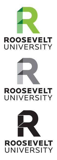 Roosevelt University / contemporary university rebrand