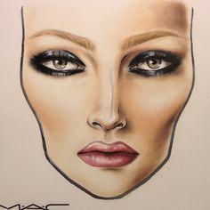 mac facechart, artist unknown