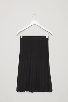 COS | Knitted pleat skirt