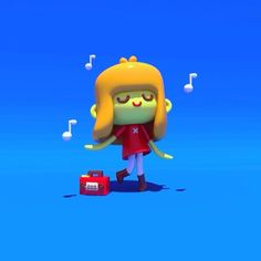 dancing with myself 3d character