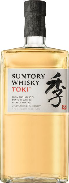 This unique blended whisky features malt whisky from Hakushu and Yamazaki distilleries, as well as heavy-type grain whisky from Chita Distillery. Good Whiskey, Cigars And Whiskey, Scotch Whiskey, Whiskey Bottle, Suntory Whisky, Malt Whisky, Malta, Grain Whisky, Sangria
