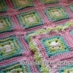 Sweetest baby blanket crochet pattern