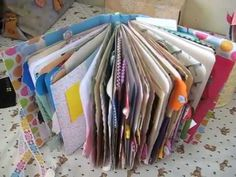 Interactive Junk Journal for Ashley Flip Through