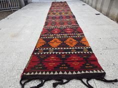 Cottage Chic Kilim Rug Runner Staircase Runner Hall Runner