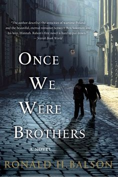 Once We Were Brothers is Ronald H. Balson's compelling tale of two boys and a family who struggle to survive in war-torn Poland, and a young love that struggles to endure the unspeakable cruelty of the Holocaust. Two lives, two worlds, and sixty years converge in an explosive race to redemption that makes for a moving and powerful tale of love, survival, and ultimately the triumph of the human spirit.