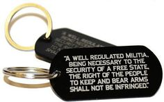 FREE SHIPPING on 2nd Amendment Key Chains! — RTBA