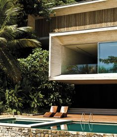 MARCIO KOGAN HOUSE as seen by photographer Matthew Salvaing #tropical #home #exterior #architecture #luxury #modern #pool
