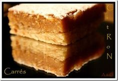 Gâteau carré(ment) citron(né) : la recette facile
